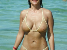 Bikini sexy et transparent - Sexe plage