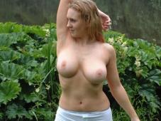 Paire de seins naturels - Exhib amatrice