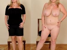 Mature seins énormes - Avant, après