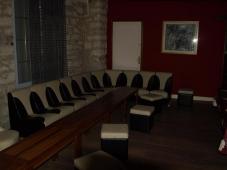 Banquette - Club libertin L'Eden