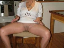 Collants sans culotte - Femme mature