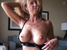 Blonde gros seins - Photo Cougar