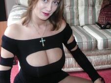 Décolleté gros seins - Femme mûre