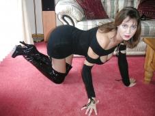 Position lascive - Femme mûre