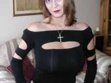 Robe moulante - Femme mûre