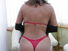 String sexy - Femme mûre