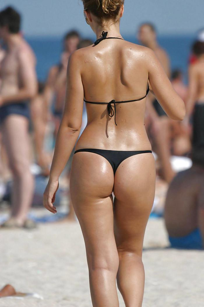 Thong buns bikini pics — pic 1