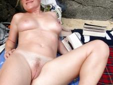 Belle chatte - Femme mature