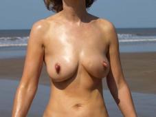 Chatte rasée - Femme mature