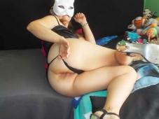 Femme libertine montre son cul - Plan sexe