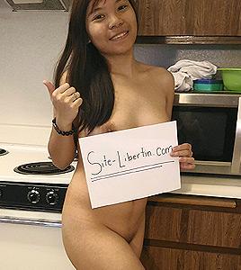Kim, 26 ans à Lyon adepte du sauna libertin