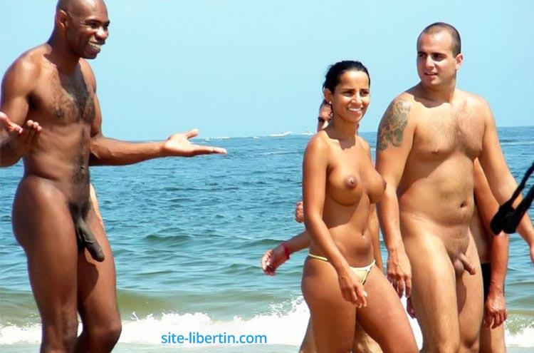 Humour sexy : Black à la plage