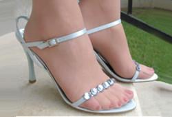 Fétichiste pieds, collants et talons