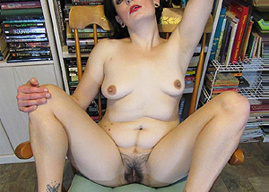 Chatte poilue - contribution sexy
