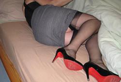 Lingerie sexy : cougar libertine
