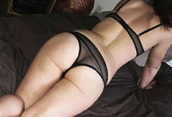 Fille en lingerie sexy