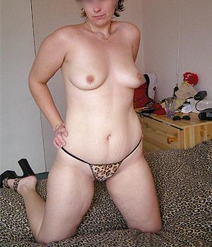 Femme mûre de Montreuil sexy en ensemble Léopard